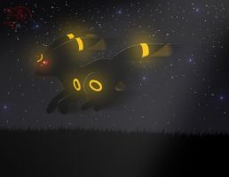 Umbreon by Lunaranimefreak