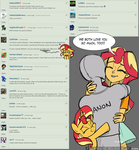 [MLP] - Ask Me: Sunset Shimmer (7) by Burning-Heart-Brony