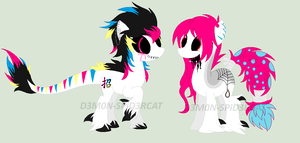 .:NEW OCs:. D3AD Party and Spirit Splash by BloodIust