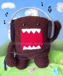 Domo kun listening to music by prismtwine