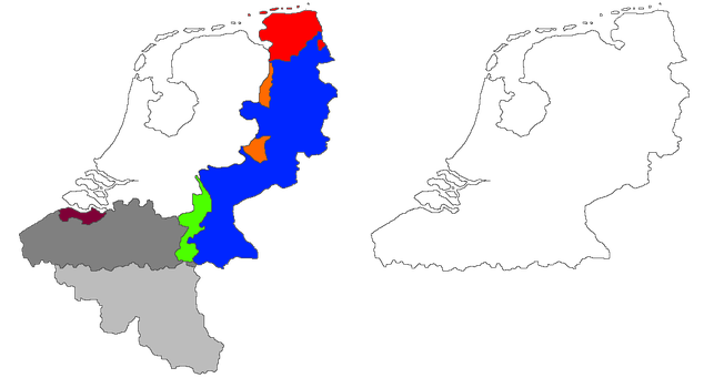 The Netherlands alternate territorial evolution by poklane