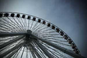 Ferris wheel by AdrianGPhotography
