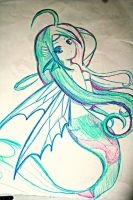 Water Fairie by Gothchick1995
