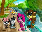 Girls By the River by JimmyCartoonist
