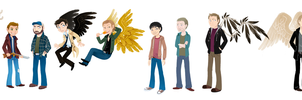 The Spn Family by Pfauenauge