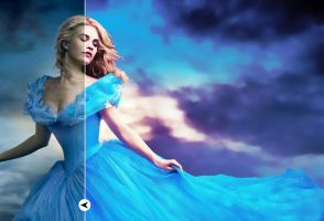 Cinderella - Photo To Painting Photoshop Action by EcaJT