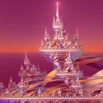 Floating City Sunset by Capstoned