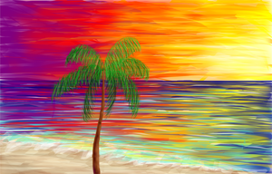 Palm Tree by uneekL4evr