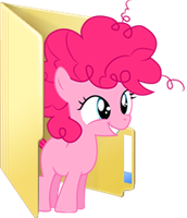 Custom Filly Pinkie Pie folder icon by Blues27Xx