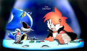 Review Sonic The Fighters by Zenox-furry-man