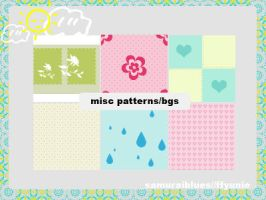 misc patterns-bgs by ffyunie