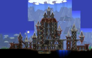 Terraria 1.3:  Let me build a quick starter castle by Sherio88