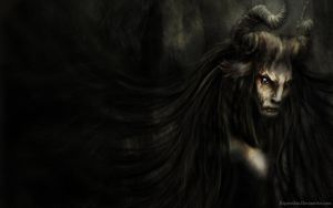 Old Forest Faun 1280x800 by Kipestshin