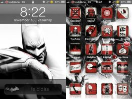 Arkham City iPhone Theme by MarkMajor