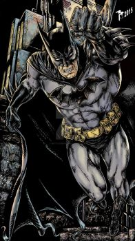 Batman by muttleymark