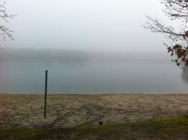 Vacation day two. the lake: completly normal by This-Shattered-Mind