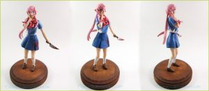 Commission Yuno Gasai Future Diary 02 by Tsurera