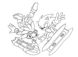 BW: Jet and Sonic by ThePandamis