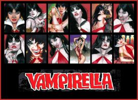 VAMPIRELLA 2012 Set 1 by MJasonReed