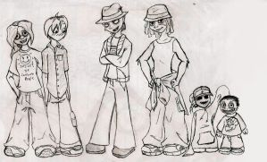 Human Disguises by R2ninjaturtle