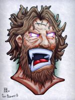 Bigby wolf (wolf among us) by cnerone21