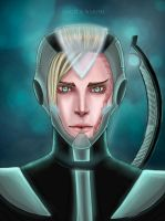 Cosmo-Elf RPG-game character by Angela-Narish