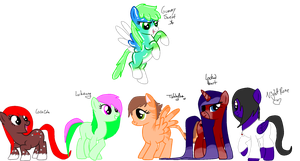 Hey look- Ponies by The-Insane-Puppeteer