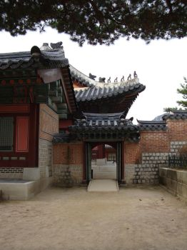 Stock - Palace in Seoul by prudentia