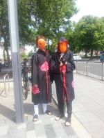 Tobi and Tobi cosplay by mephilesxdarkness