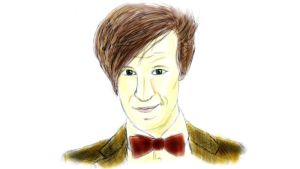 Matt Smith Colour by IBelongToTheDoctor