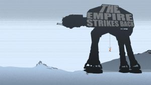 The Empire Strikes Back Wallpaper [Text] by Zim1112