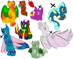 Adoptables by Artistonfire