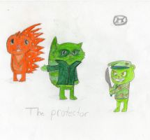 The Protector by lagmentcreator