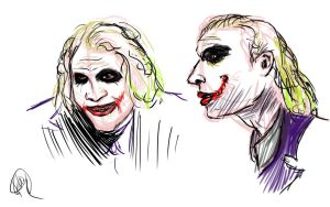 Joker Face Studies by pirate-LD
