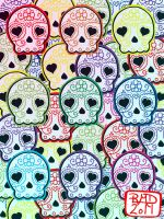 Baby suga skulls pattern by my-little-native