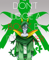 Don't judge a book by it's cover by devilarcana