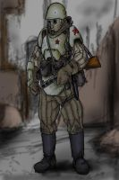 The New War Russian colored by warman707