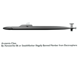 Arutemia Class Submarine by Stealthflanker