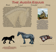 The Audax Equus-Breed Sheet-Under Construction by patchesofheaven74