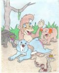Jungle Cubs Spanking by Krypto451
