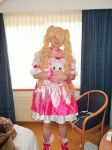 my cure peach cosplay at abunia 2015 by momo9chan