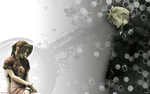 Cloud and Aerith Wallpaper 2 by Harty73