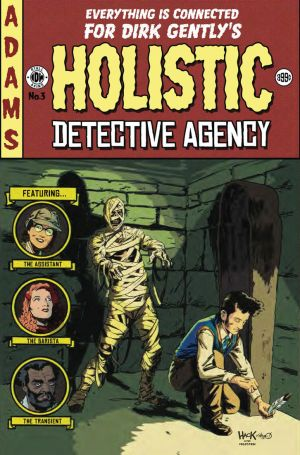 Dirk Gently's Holistic Detective Agency #3 variant by RobertHack