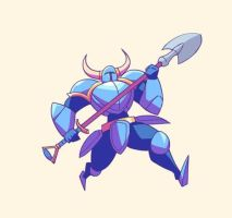 Shovel Knight by Lutherniel