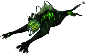 Green Hallow Hound- Auction by Pirate-Reaper