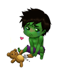 Aww Mini-Hulk by pantalaemon