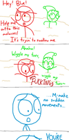 Dick Figures: QUICKSAND! by bemine-lordtourettes