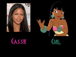 Chel - Cassie by FalseDisposition