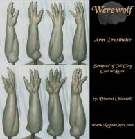 Werewolf Arm - Sculpt by RaptorArts
