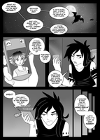 Shaded Night - CHAPTER 1 - Story Arc - P.1 by lalaraptor